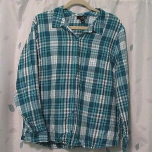 Erika Flannel Shirt Size XL